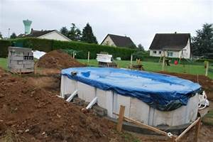 Piscine A Enterrer : piscine hors sol semi enterr e piscine ~ Zukunftsfamilie.com Idées de Décoration