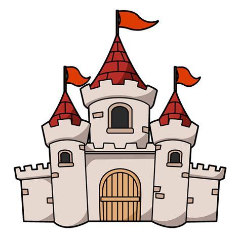cartoon castles clipart