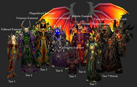 tier warlock sets wow warcraft looking gear armor warrior wotlk which poll far npc wowwiki alliance threads transmogrification james diy