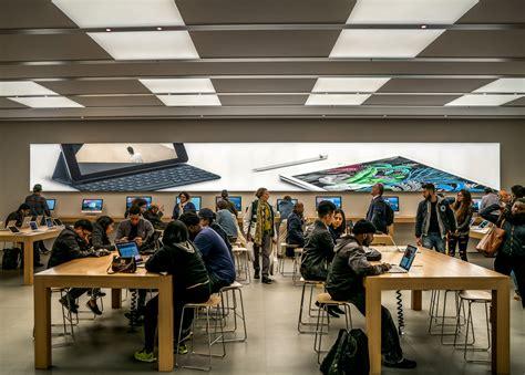 apple store signage backlit seg tension fabric