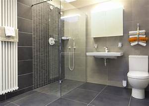 Wet rooms for the elderly and less able for Carrelage adhesif salle de bain avec led power supply