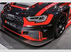 Audi RS3 Gets Racing Version, Becomes Audi RS3 LMS