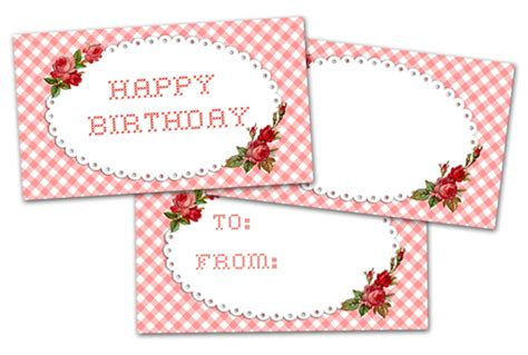 freebie image pretty happy birthday tags  pretty