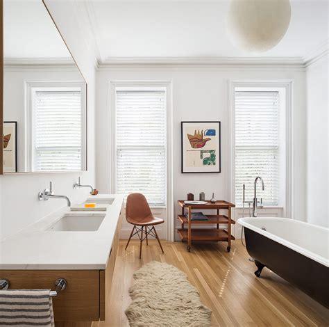 restored brooklyn brownstone house  fresh contemporary