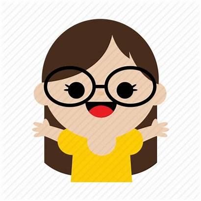 Glasses Icon Cartoon Child Pamela Sweet Icons