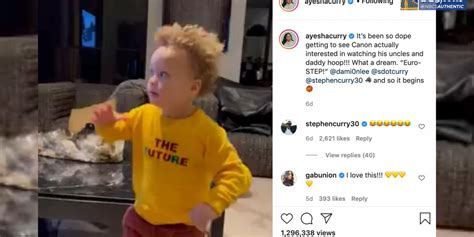 Wardell stephen curry ii is the son of sonya and dell curry.he was born in akron, ohio, at summa akron city hospital (the same hospital where lebron james had been born slightly over three years earlier), while his father was a member of the cleveland cavaliers. Warriors' Steph Curry reacts to his son Canon's viral euro step video   RSN