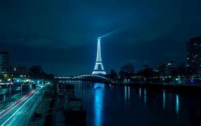 Night Paris Tower Eiffel 4k Ultra Widescreen