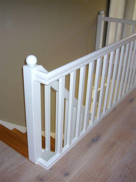 Treppengeländer Weiß Holz by Gel 228 Nder Und Stufen F 252 R Bestehende Treppen