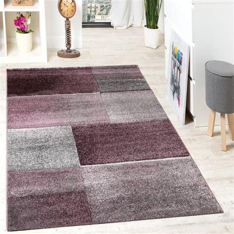 teppich in grau teppich grau lila haus deko ideen
