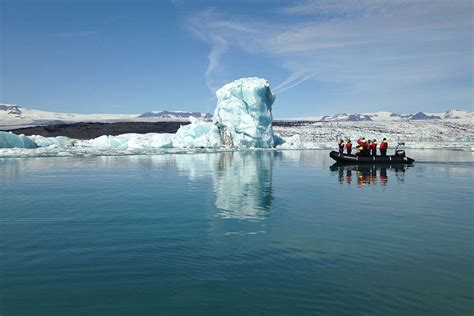 Glacier Boat Tours by Jokulsarlon Glacier Lagoon Zodiac Boat Tour Day Tour