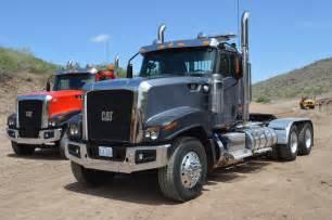 cat semi truck cat rolls out two new vocational trucks medium duty work