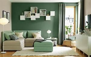 Gemütliche Wohnzimmer Farben : moderne wohnzimmer farben trendge einrichtungsideen in gr n und rot ~ Watch28wear.com Haus und Dekorationen