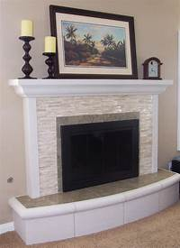 brick fireplace remodel La Mesa Remodel - Contemporary - Living Room - San Diego ...