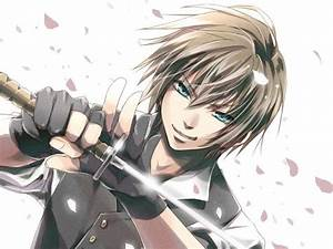 Anime guy with blue eyes | anime fighters | Pinterest ...