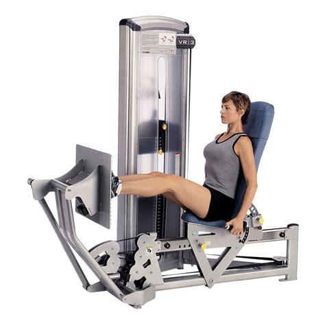 Cybex VR3 Seated Leg Press Sweatband com