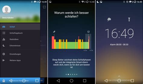 sleep app iphone runtastic sleep better schicker schlafphasenwecker