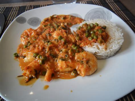 un peu toquées curry de crevette recette de