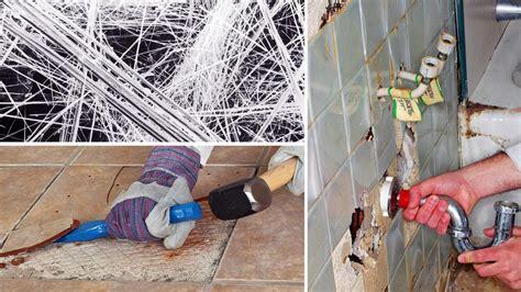 krebs asbest lauert dort wo man ihn nie vermuten wuerde