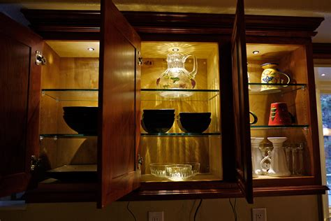 Modern Kitchen With Led Under Kitchen Cabinet Lighting
