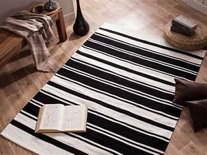 ou trouver un tapis noir et blanc joli place With ou acheter un tapis