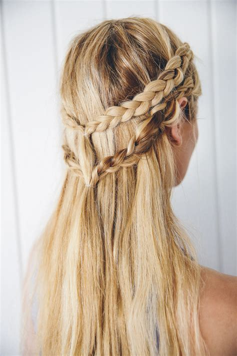 Hair Hairstyles by Khaleesi Inspired Hair Tutorial Barefoot By