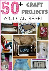 50+ Crafts You Can Make and Sell Extra money, Craft