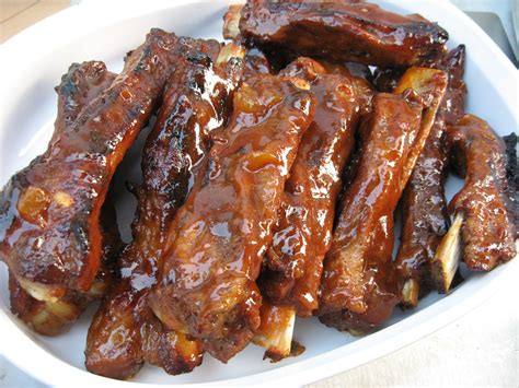 spare ribs spare ribs and homemade barbecue sauce by foodpassion