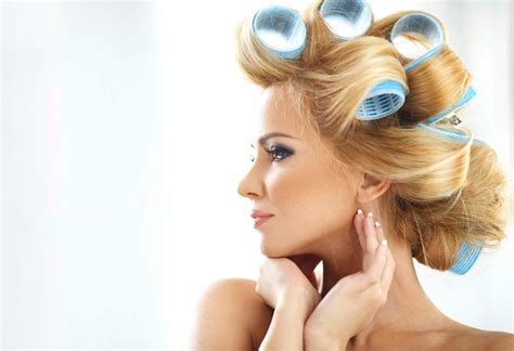 choose   hair rollers