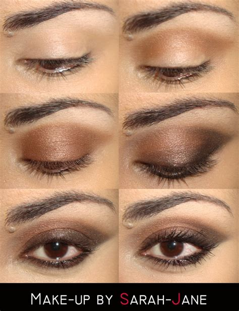 beautiful makeup tutorials  brown eyes pretty designs
