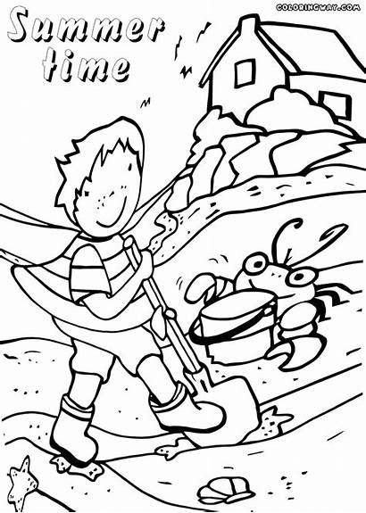 Summer Coloring Pages Nature