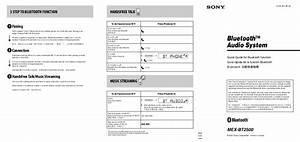 Sony Car Stereo System Mex