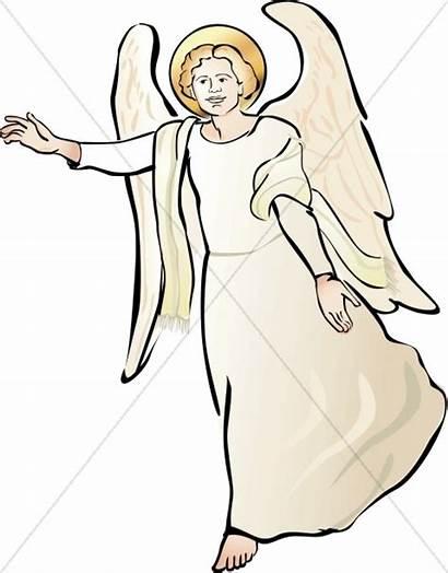 Angel Clipart Gabriel Angels Clip Bible Graphics