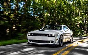 Wallpaper Dodge Challenger SRT Hellcat Widebody, White, HD