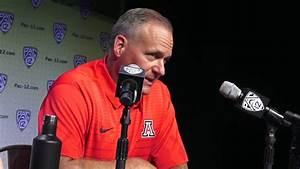 Arizona Football Head Coach Rich Rodriguez is ready to ...