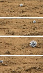 Picture of Creature On Mars NASA