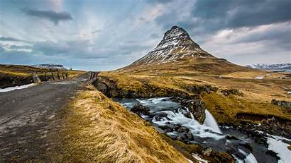 4k Iceland Wallpapers Mountain Ultra Kirkjufell Natural
