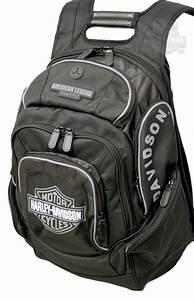 Harley Davidson Rucksack Wasserdicht : bp1900s gy harley davidson backpack black grey b s ~ Jslefanu.com Haus und Dekorationen