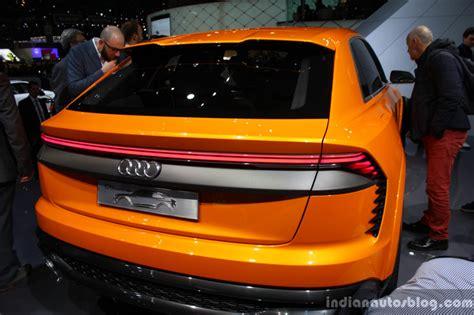 Audi Q8 Sport Concept Taillamp At The 2017 Geneva Motor