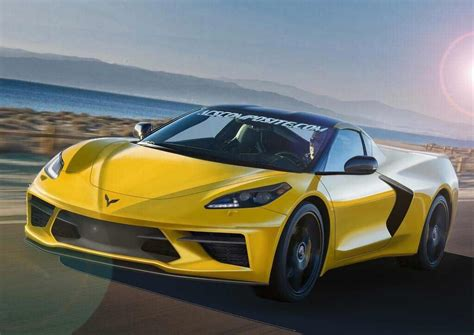 C8 Corvette News by Pic C8 Mid Engine Corvette Rendered By Acs Composite
