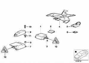 01 740i Airbag Main Module Brain  Location Help