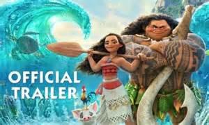 Moana Disney Movie Trailer