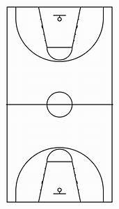 File Basketball Court Dimensions No Label Svg