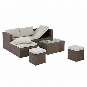 Lounge Set 3 Teilig : garten lounge set texas 4 teilig braun d nisches bettenlager ~ Bigdaddyawards.com Haus und Dekorationen