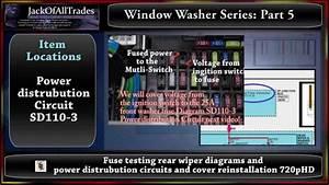 2009 Hyundai Accent Window Washer Series Part 5 Testing