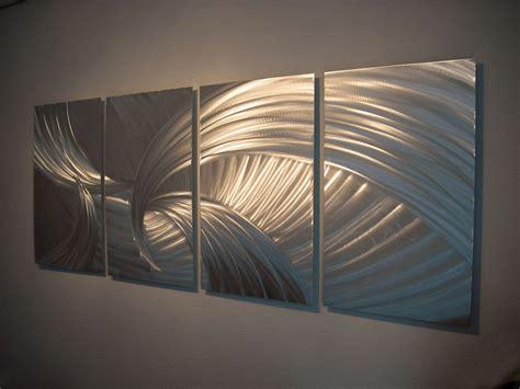 Modern Hanging Metal Wall Art Sculpture Contemporary: Metal Wall Art Decor Aluminum Abstract Contemporary Modern