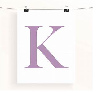personalised letter print by made by aiza With extra large bulletin board letters