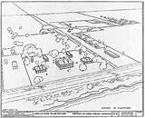 Plantation Louisiana St Parish James Uncle Sam Drawing Landscape Aerial Cultural Marlow Southern Slave Plantations Antebellum Joseph Homes Storyville Gwu sketch template