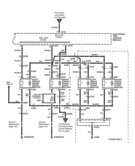 1999 Kium Sportage Wiring Schematic by Repair Guides Power Door Locks 2000 Power Door