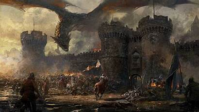 Dragon Knight Castle Army Fantasy Siege Cavalry