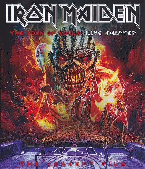 Iron Maiden / The Book Of Souls Live Chapter Concert Film ...